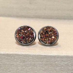 Jewelry - Round Druzzy Studs